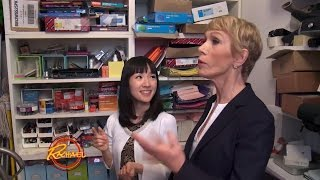 The Queen of Tidying Marie Kondo Organizes a Hot Mess Closet in Only ONE Hour