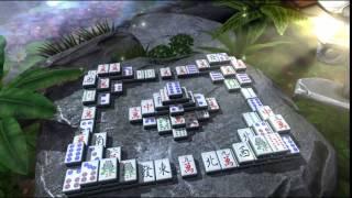 Zen Garden Mahjong - Garden at Night