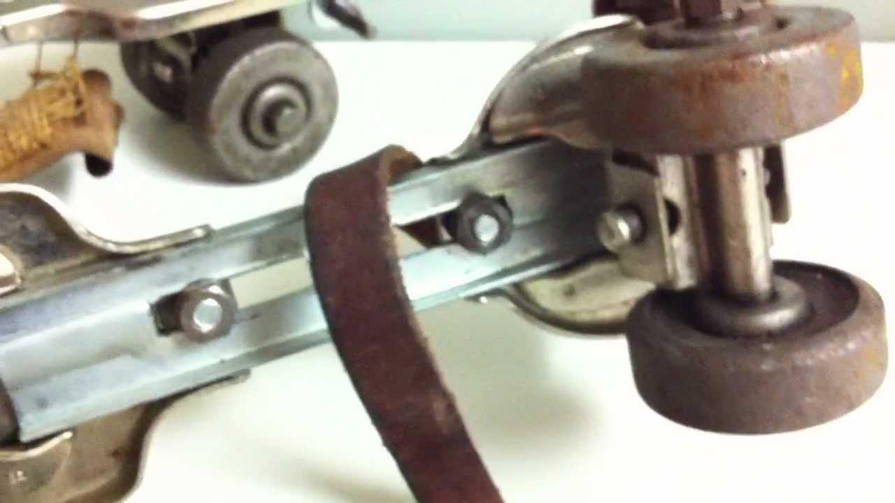 Roller skates vintage - Rare Vintage Jc Higgins Roller Skates Adjustable Metal Skates