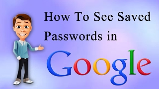 How To See | Saved Passwords | In  Google Chrome | Delete Stored Passwords