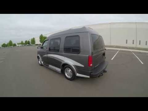 4K Review 2001 Chevrolet Astro Conversion Van Virtual Test-Drive & Walk-around