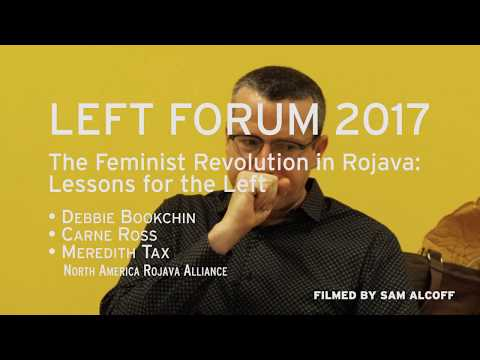 Left Forum 2017: Rojava
