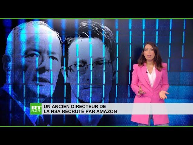 Un ancien directeur de la NSA débarque chez Amazon