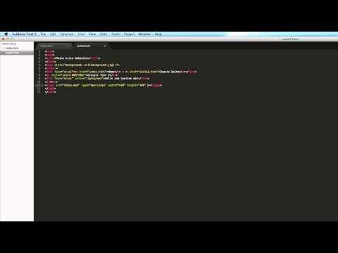 HTML Grundkurs #5 - Video Einfügen