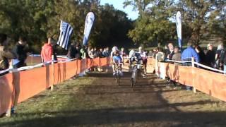 1ère manche challenge national cyclo-cross élites à Lignières 30-10-11