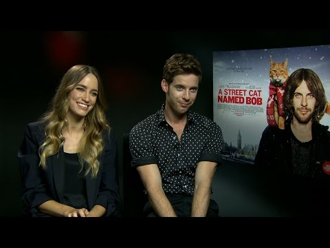 A Street Cat Named Bob interview: hmv.com talks to Ruta Gedmintas & Luke Treadaway