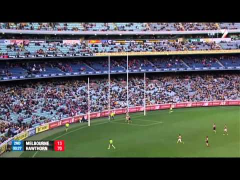 Round 10 AFL - Melbourne v Hawthorn Highlights