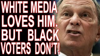 The Media Says Blacks Don't Care About Bloomberg's Racism, But Polls Say Otherwise!