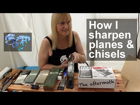 How I sharpen planes and chisels