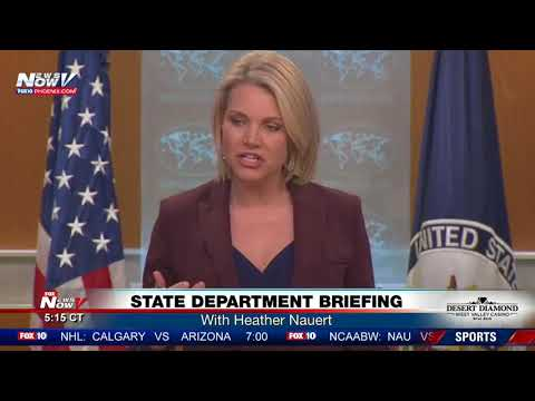 STATE DEPT BRIEFING: With Heather Nauert on Feb. 22 (FNN)
