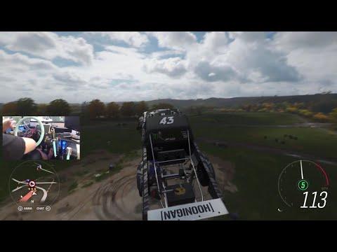 Horizon 4 / Hoonitruck / Logitech g920 RWD vs AWD