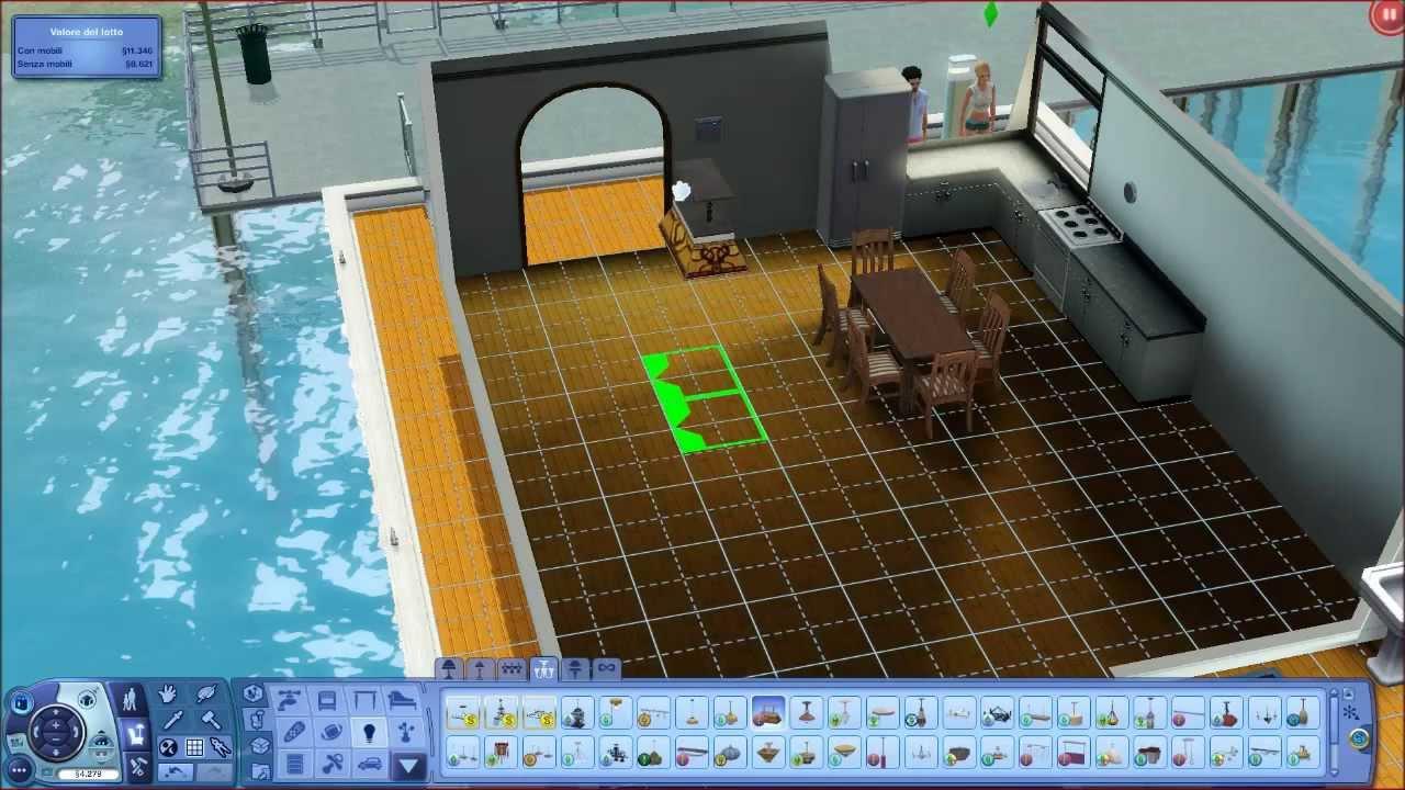 The sims 3 isola da sogno parte 2 casa navigante youtube for Case the sims 3 arredate