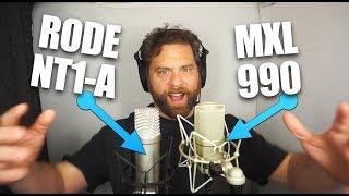 MXL990 vs Rode NT1 a