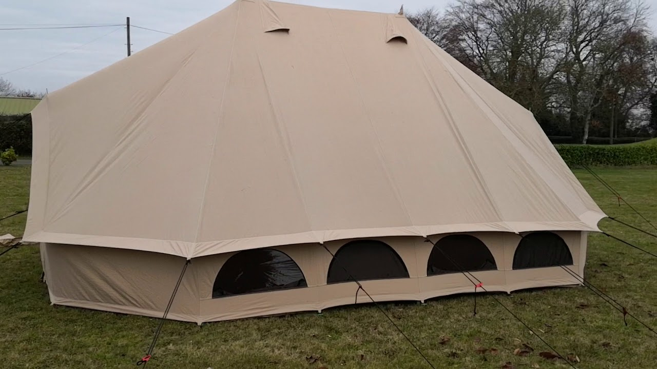 buy online 0d678 f3ce6 Quest Emperor Bell Tent brought to you by www.crosscamping.com