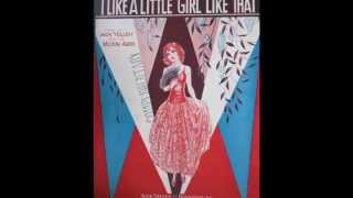 """I Like A Little Girl Like That""   Joe Venuti and His Orchestra 1930"