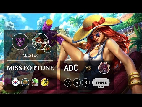 Miss Fortune ADC Vs Xayah - KR Master Patch 9.20