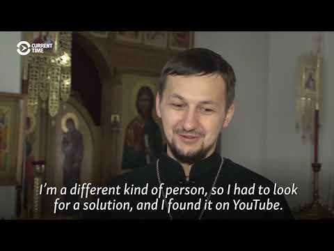 Blogging For God: Belarusian Priest Makes YouTube His Pulpit