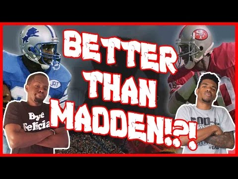 BETTER THAN MADDEN!?! - All Pro Football 2k8  | #ThrowbackThursday ft. Juice