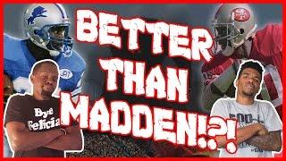 BETTER THAN MADDEN!?! - All Pro Football 2k8  | #ThrowbackThursday ft. Juice