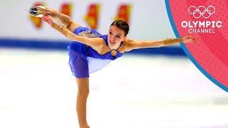 Anna Shcherbakova is one of Russia's latest teenage figure skating stars