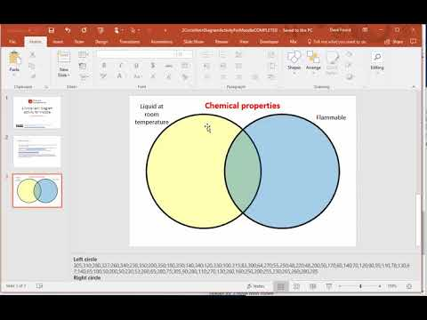 How To Create A 2 Circle Venn Diagram Activity In Moodle Youtube