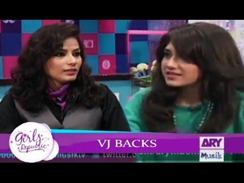 Girls Republic | VJ Backs  | Guest -  Anjumm Tarot Card Reader | ARY Musik
