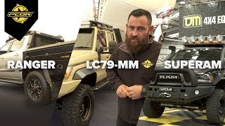 Patriot Campers launch Ranger, LC79 and Ram Supertourers at Melbourne 4X4 Show 2018 - Part 1