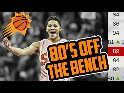 80 OVERALLS OFF THE BENCH! 2018 Phoenix Suns Rebuild