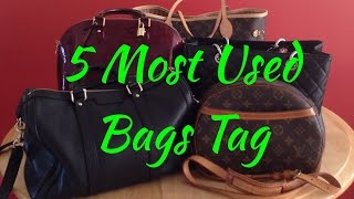 5 Most Used Bags Tag   2014 Thumbnail