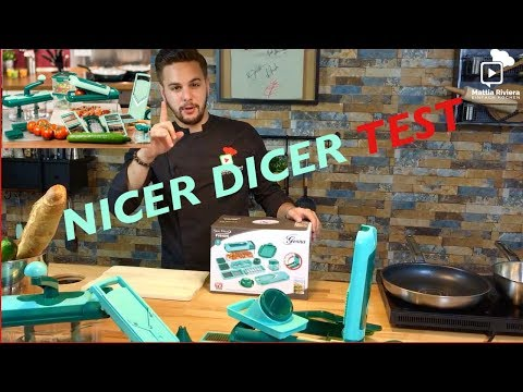 Nicer Dicer Fusion Test + Einfaches Rezept | Mattia Riviera