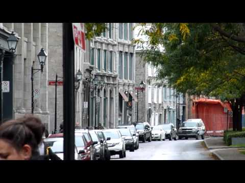 Overview Of Old Town / HIstoric Area Montréal