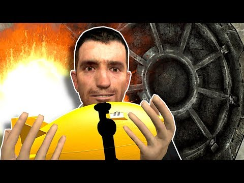 Nuke Survival In Fallout Shelter! - Garry's Mod Gameplay