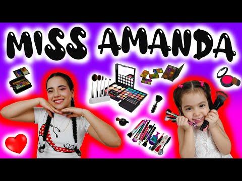 """miss-amanda-y-su-mega-coleccion-de-maquillaje"",a-kids-youtube-channel"