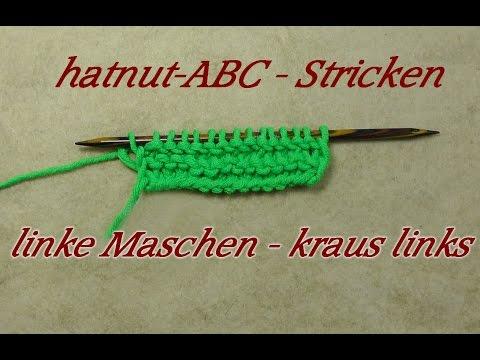 hatnut-ABC – Stricken lernen – linke Maschen – Veronika Hug