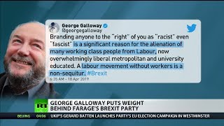 Galloway reveals to RT UK why he'll be voting for Farage's Brexit Party