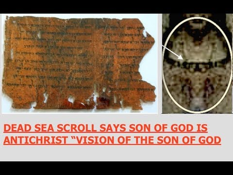 Jesus Prophesised, Dead Sea Scroll 'Vision of the Son of God' Parallels, Gospel of Luke