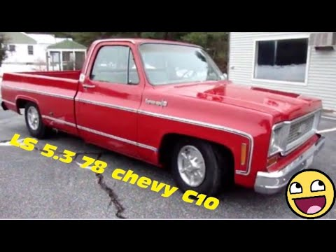 5 3 4l60e Lsx Vortec Ls1 Conversion Into 1978 Chevrolet