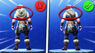 How To take off your Backbling in Fortnite Season 5! FIX SEASON 5 BACKLING GLITCH! No Backbling Fix!