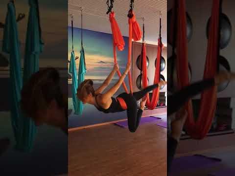 AerialYoga - aerial dance by Paula Costa