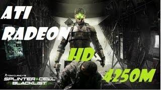 Splinter Cell Blacklist - ATI Radeon HD 4250 Gamep
