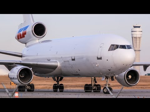 The Ultimate McDonnell Douglas DC-10 Compilation | Kelowna Flightcraft at Calgary Airport