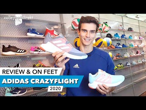 Crazyflight X 3 Mid Herren Handballschuhe weiss Adidas EF8745 9.5