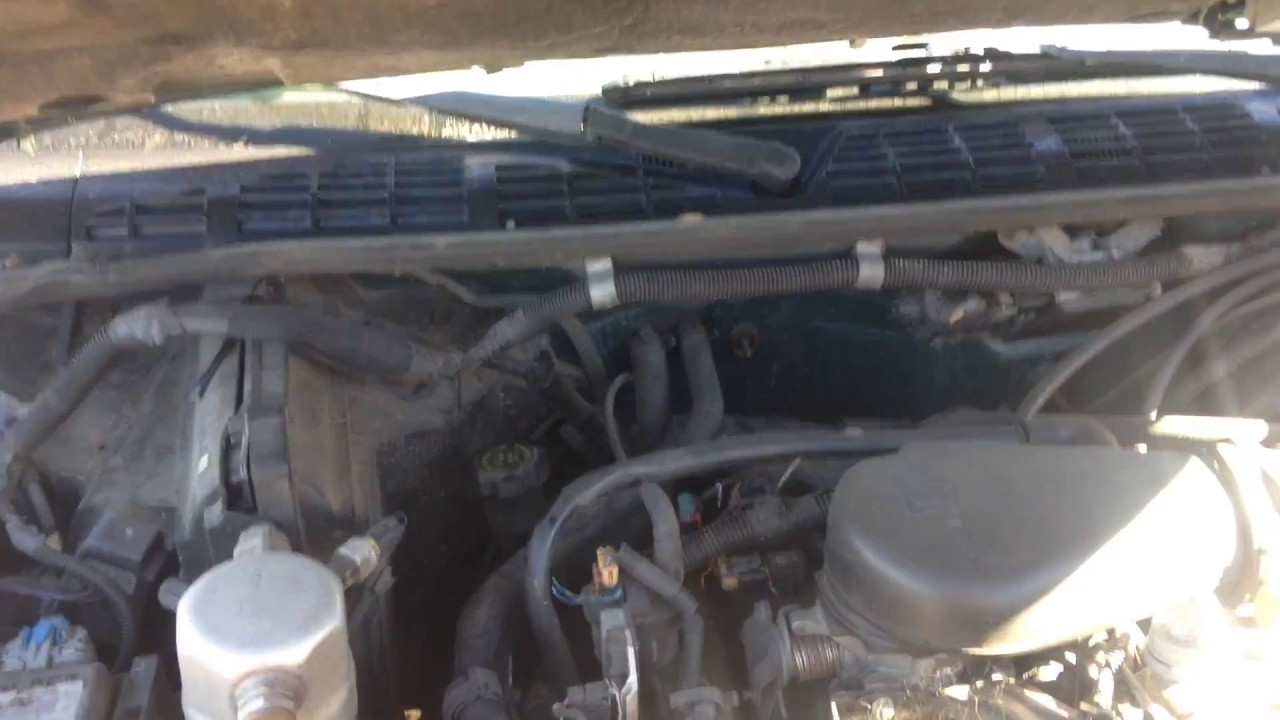 hight resolution of how to check transmission fluid on a 1998 chevy blazer