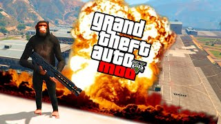 GTA 5 PC Mods - NUKE MOD! Shoot Nukes Out Of Railguns! (GTA V PC Mods)