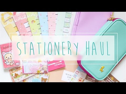 Stationery, Sticky Notes & Planner Goodies Haul ~ A Beautiful Fable