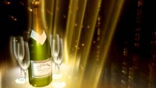 HD Напиток Шампанское бокалы красивый фон титров праздник Скачать бесплатно в хорошем качестве After