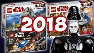 НОВИНКИ LEGO STAR WARS 2018