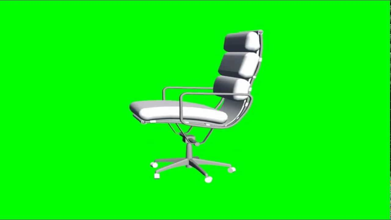 Free Green Screen 3d Objects Office Chair Youtube