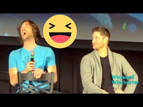 Jared Calls Jensen Ackles 'Hot Dad' & LOSES IT!