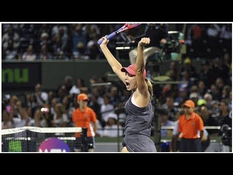 Collins tops her idol, Venus Williams, in Miami
